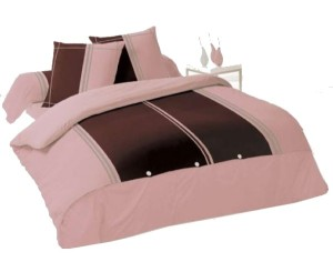 housse de couette chocolat rose housse de couette pas cher. Black Bedroom Furniture Sets. Home Design Ideas